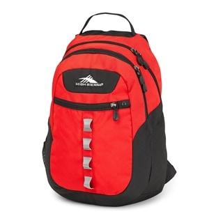 High Sierra Opie Crimson Black 18.5-inch Backpack