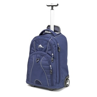 High Sierra Freewheel True Navy 20-inch Wheeled Backpack with Teloscoping Handle