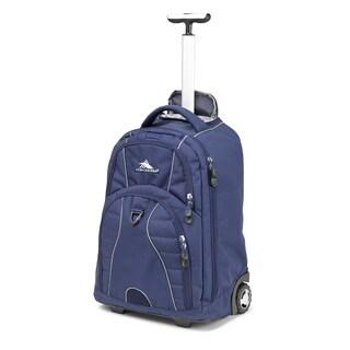 High Sierra Freewheel True Navy 20-inch Wheeled Backpack with Teloscoping Handle