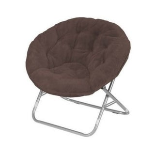Faux Fur Saucer Chair (3 options available)
