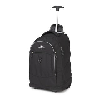 Hig Sierra Chaser Black 20-inch Wheeled Backpack