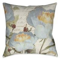 Laural Home Garden Flowers Indoor Decorative Pillow