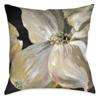 Laural Home Chic Flowers II Indoor Decorative Pillow