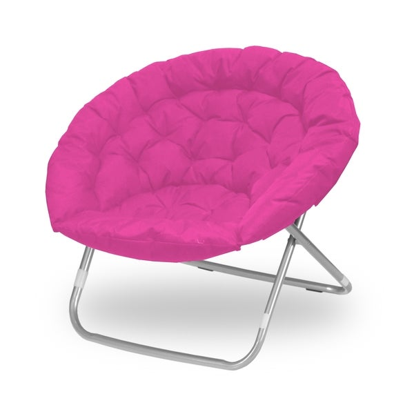 Oversized Moon Saucer Chair  sc 1 st  Overstock.com & Shop Oversized Moon Saucer Chair - Free Shipping Today - Overstock ...