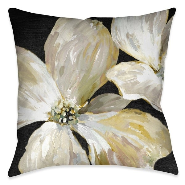 Laural Home Chic Flowers I Indoor Decorative Pillow. Opens flyout.