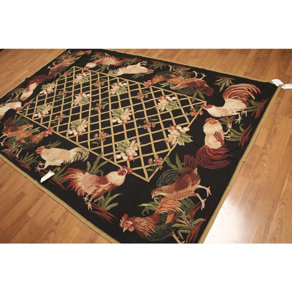 Rustic Rug Country: Shop Rustic Country Cottage Needlepoint Aubusson Handwoven