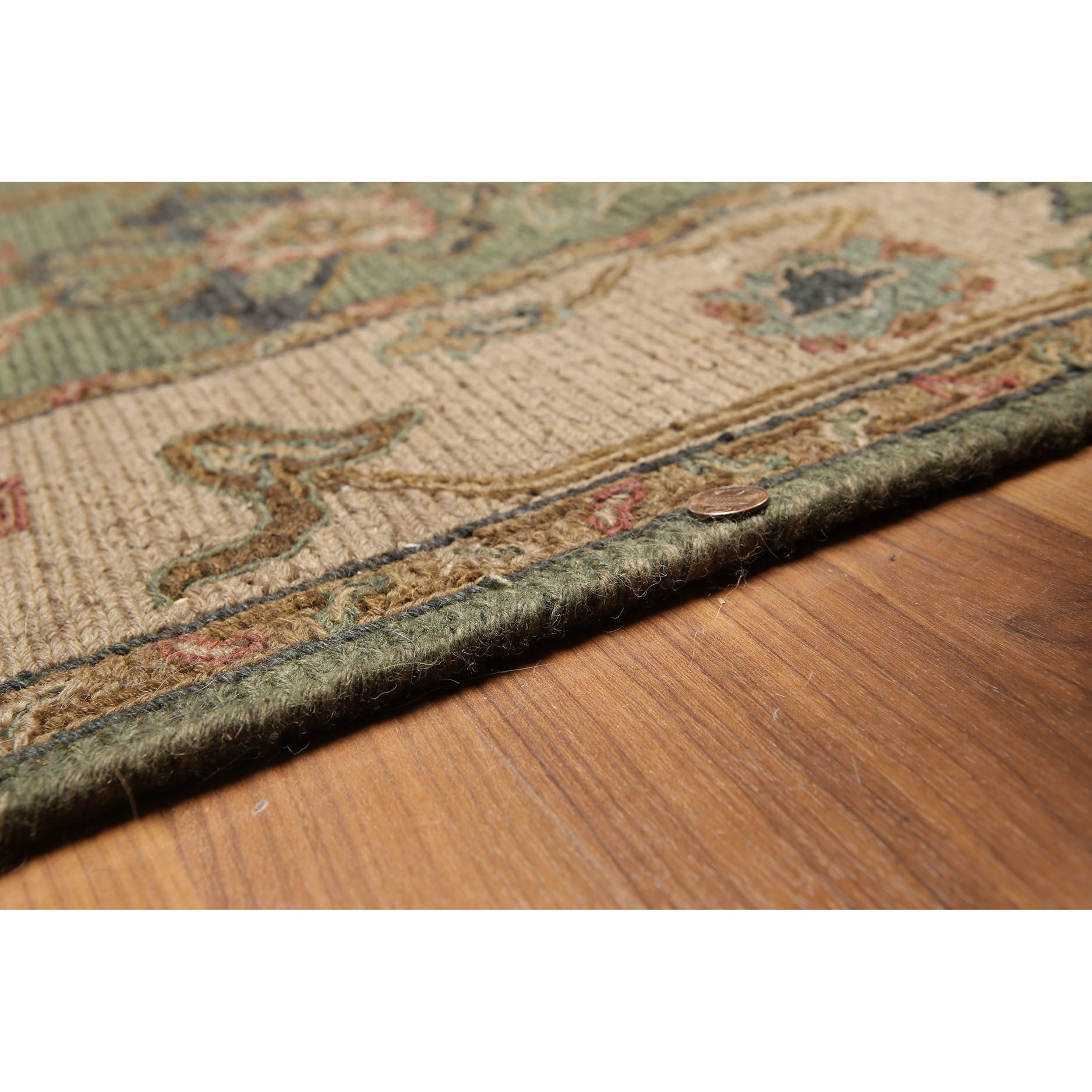 Soumac Tan Olive Green Wool Reversible Hand Knotted Oriental Rug 4 X 6 Green Olive Tan 4 X 6 Overstock 17166461