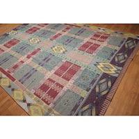 Rare Michaelian Kholberg Needlepoint Aubusson Pure Wool Hand-woven Rug (8'9 x 12'6)