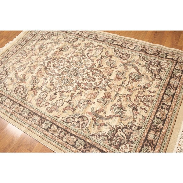 Ornamental Karastan Pure Wool Machine Made Rug 5 X27