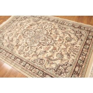 Ornamental Karastan Pure Wool Machine-made Rug (5'2 x 7'8)