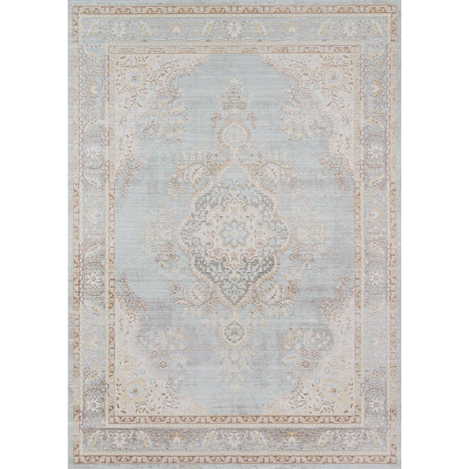 Momeni Isabella Rug (2' X 3') (Periwinkle (2' X 3')), Pur...