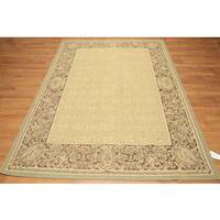 Aubusson Classic French Country Ornamental Needlepoint Rug - 6' x 9'