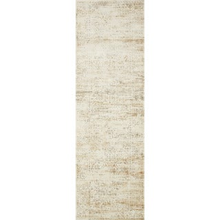 Augustus Cream/ Multi Rug (2'7 x 10')