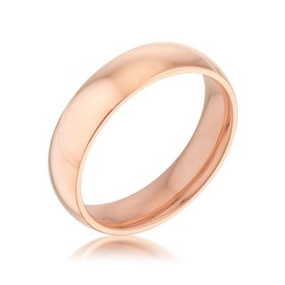 5 mm IPG Rose Goldtone Stainless Steel Band - Other