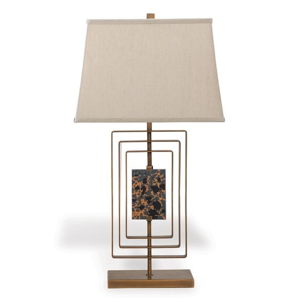Sawyer Brass Lamp