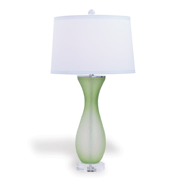 Lakeview Green Lamp