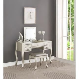 Bobkona High Utility Flip Up Mirror Vanity Set