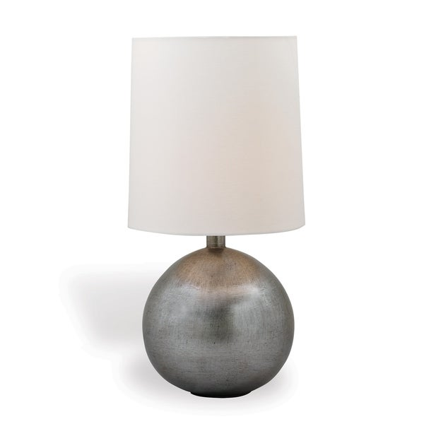Foley Silver Lamp