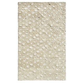 Orchid Ivory/ Wool Area Rug (2'x3')