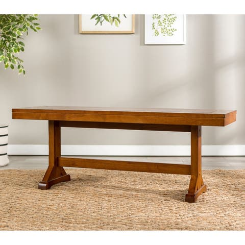 """48"""" Trestle Dining Bench - N/A"""