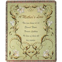 Manual Woodworkers A Mothers Love Multicolor Tapestry Throw