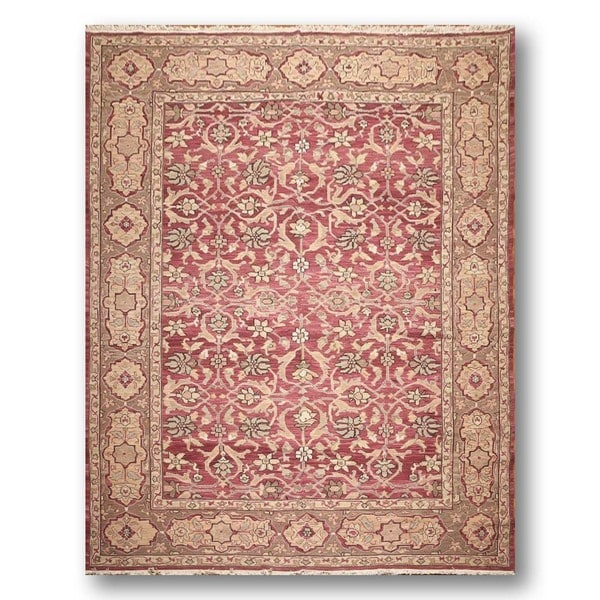 Nourison Nurmak Hand-knotted Pure Wool Reversible Soumak Oriental Area Rug (9'x12') - Multi-color