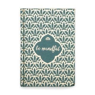 Metallic Message Journal - Be Mindful