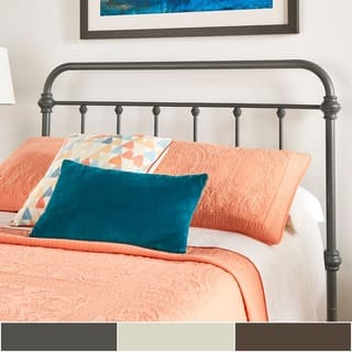 Giselle Antique Graceful Victorian Metal Headboard by iNSPIRE Q Classic|https://ak1.ostkcdn.com/images/products/17166994/P23429578.jpg?impolicy=medium