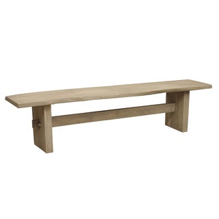 Caribou Dane Dalton Natural Finish Wood Bench