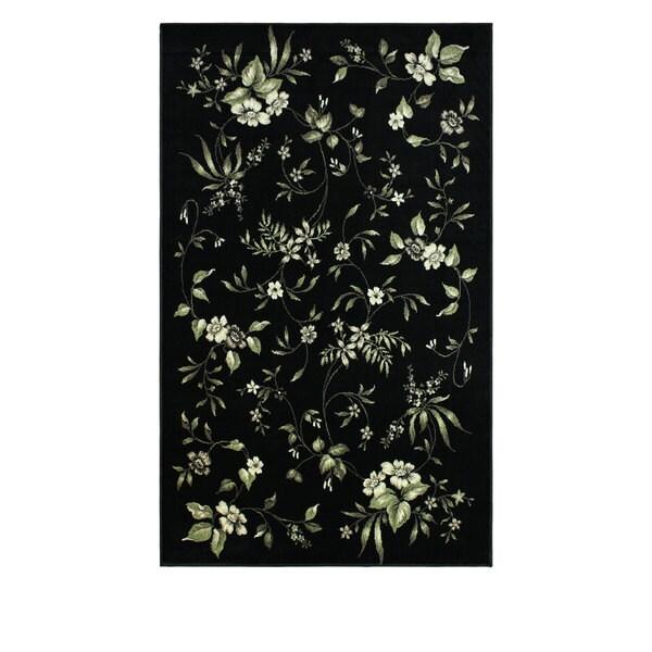 Superior Designer Bloom Area Rug - 4' x 6'