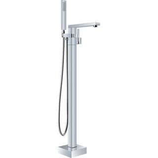 Ariel Single-handle Freestanding Roman Tub Faucet with Hand Shower