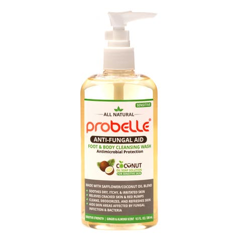 Probelle Natural Anti-Fungal 9.5-ounce Sensitive Foot & Body Cleansing Wash