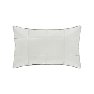 Five Queens Court Clayton Twill Cotton Boudoir Throw Pillow