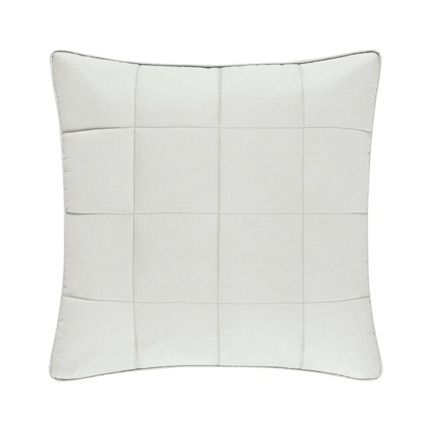 Five Queens Court Clayton Twill Cotton 20-Inch Square Throw Pillow