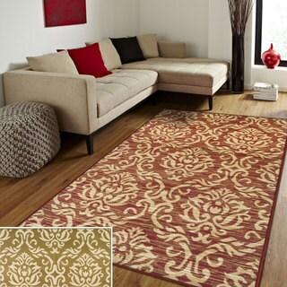 Superior Designer Fleur De Lis Area Rug (5' x 8')