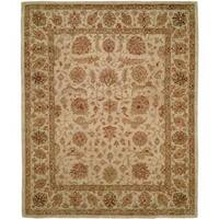 Empire Ivory Hand-tufted Area Rug (6' x 9')