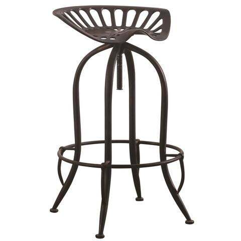 Amazing Buy Black Copper Finish Adjustable Counter Bar Stools Gmtry Best Dining Table And Chair Ideas Images Gmtryco