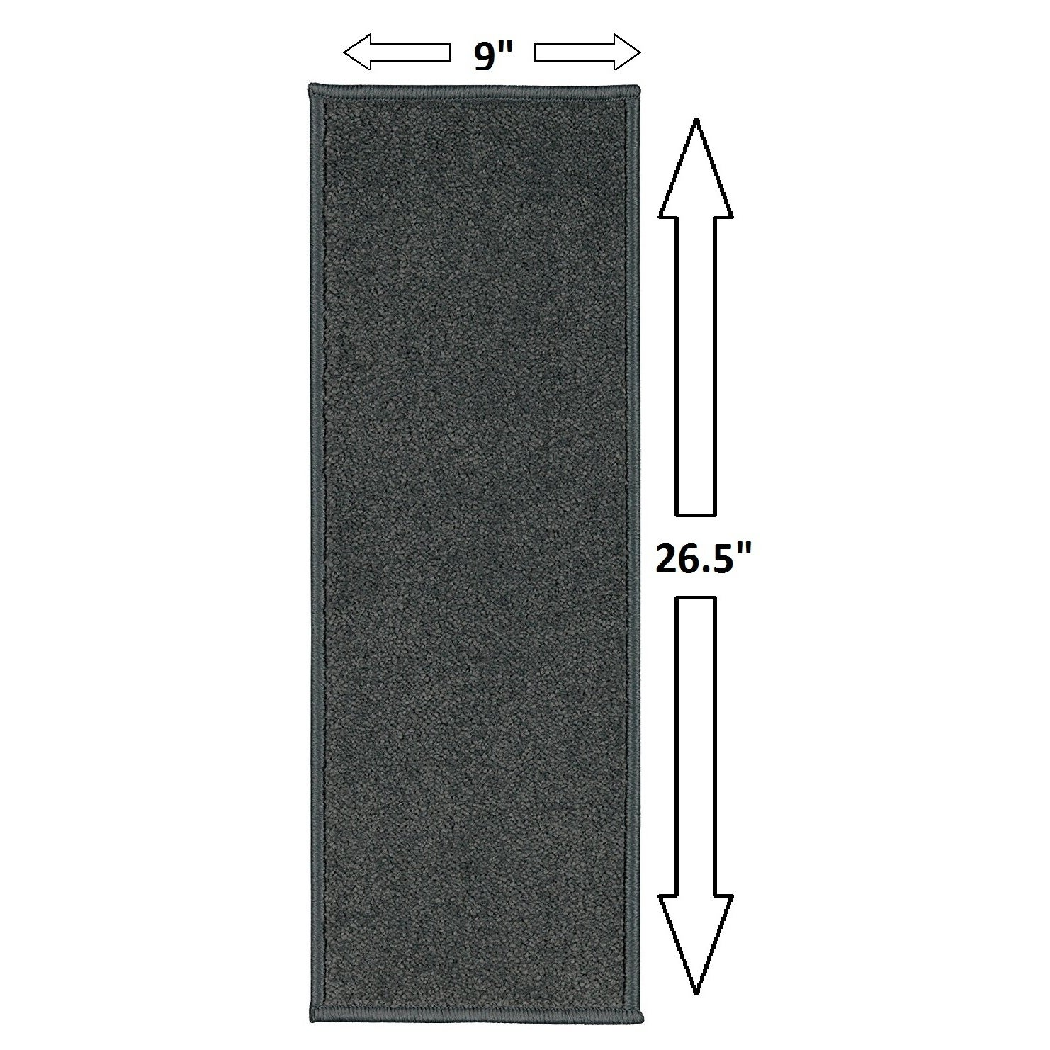 Attractive Casatreads Nonslip Rubber Backed Stair Tread 8 034