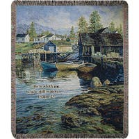 Manual Woodworkers Solitude Tapestry Throw