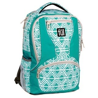 Ful Mission Diamond Tribal 15-inch Laptop Backpack