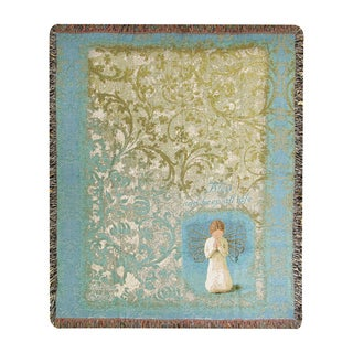 Manual Willow Tree Angel Tapestry Throw