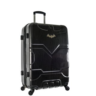 DC Comics Batman Black 29-inch Hardside Spinner Upright Suitcase