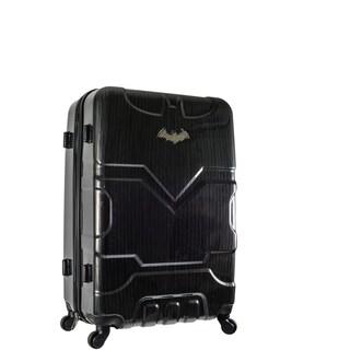 DC Comics Batman Black 26-inch Hardside Spinner Upright Suitcase