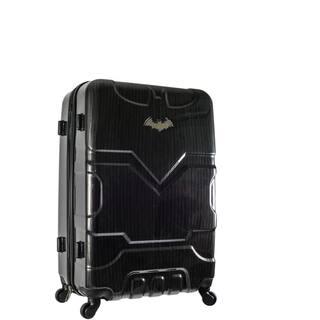 DC Comics Batman Black 26-inch Hardside Spinner Upright Suitcase|https://ak1.ostkcdn.com/images/products/17167262/P23429758.jpg?impolicy=medium