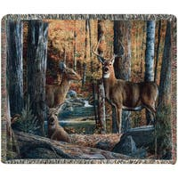 Manual Woodworkers Broken Silence II Tapestry Throw