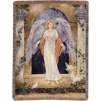 Manual Woodworkers Guardian Angel Tapestry Throw
