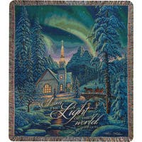 Manual Woodworkers Light of the World Tapestry Throw