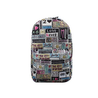 AfterGen Anti-Bully Patchwork Backpack