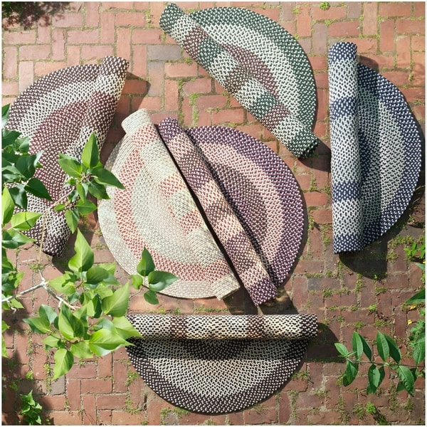 Farm Braid Indoor/Outdoor Reversible Rug USA MADE - 8' x 11'