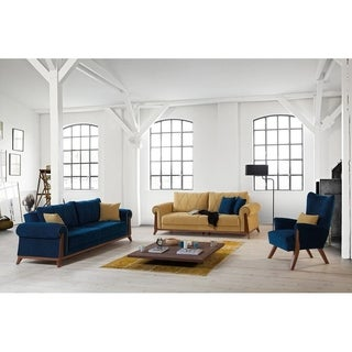 Perla Furniture's London Collection Euro-Americana style chic living room sofa (3 options available)